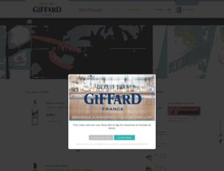 boutique-giffard.com screenshot