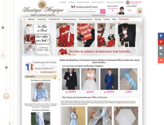 boutique-magique.fr screenshot