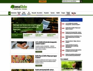 boutique.consoglobe.com screenshot