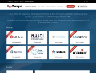 boutique.demarque.com screenshot