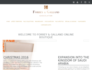 boutique.forreygalland.com screenshot