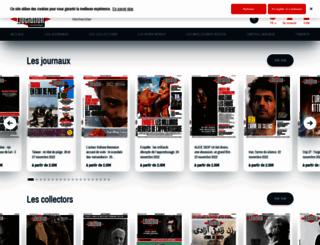 boutique.liberation.fr screenshot