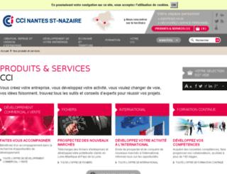 boutique.nantesstnazaire.cci.fr screenshot