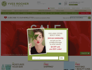 boutique.yvesrocher.ca screenshot