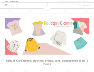 boutiqueciconia.com screenshot