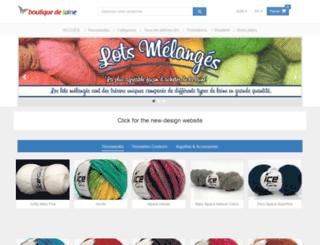 boutiquedelaine.com screenshot