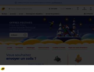 boutiqueducourrier.laposte.fr screenshot