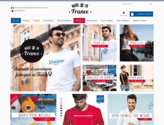 boutiqueduteeshirt.com screenshot