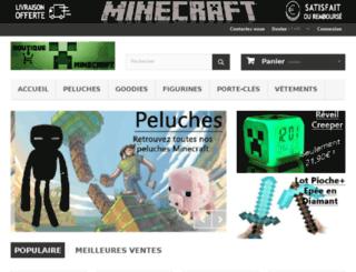 boutiqueminecraft.com screenshot