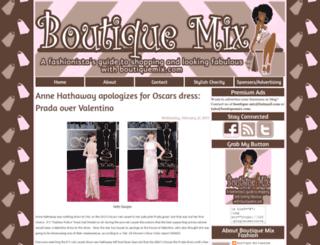 boutiquemixfashion.blogspot.com screenshot