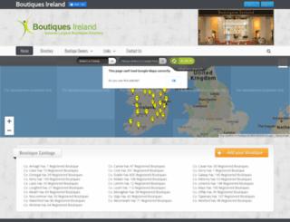 boutiquesireland.com screenshot