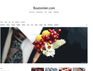 boutonnier.com screenshot