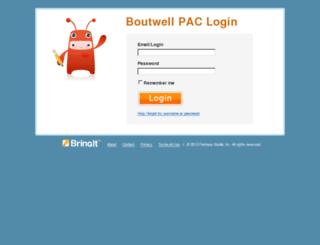 boutwellpacvolunteer.pleasebringit.com screenshot