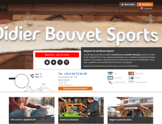 bouvet-sports.notresphere.com screenshot