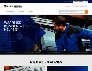 bouwcenter.nl screenshot
