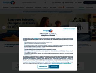 bouyguestelecom.fr screenshot