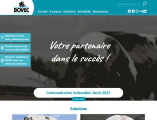 bovec.fr screenshot