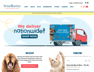 bowandwow.com.ph screenshot