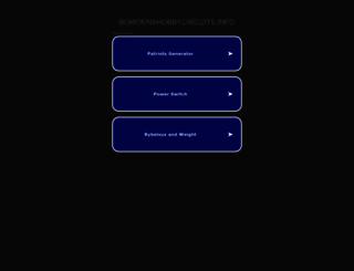 bowdenshobbycircuits.info screenshot
