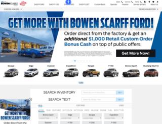 bowenscarffford.com screenshot