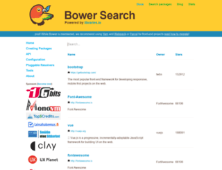 bower.herokuapp.com screenshot