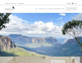bowercottage.com.au screenshot