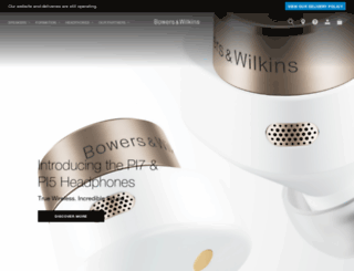 bowers-wilkins.jp screenshot