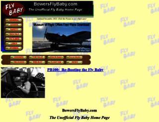 bowersflybaby.com screenshot