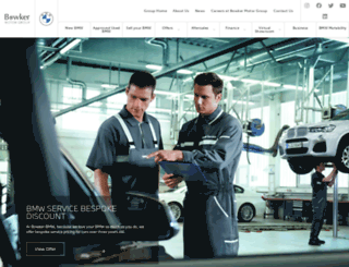 bowkerbmw.com screenshot