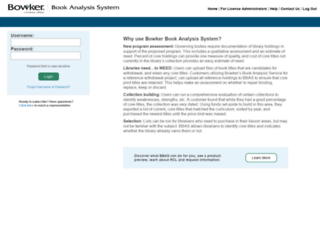 bowkersbookanalysis.com screenshot