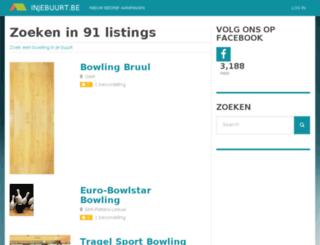 bowling.injebuurt.be screenshot