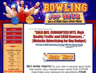 bowlingforhits.com screenshot