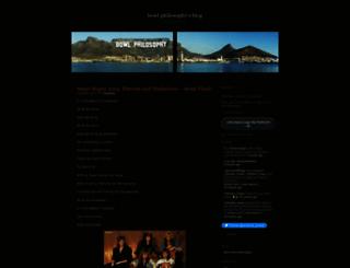 bowlphilosophy.wordpress.com screenshot