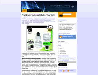 bowmanlamps.wordpress.com screenshot