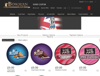 bowmantrade.co.uk screenshot