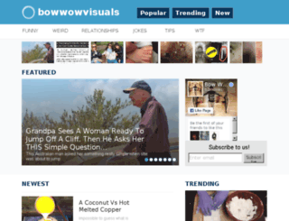 bowwowvisuals.net screenshot
