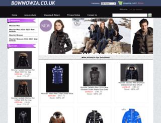 bowwowza.co.uk screenshot
