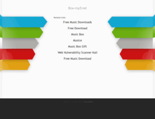 box-mp3.net screenshot
