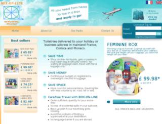 box-on-line.com screenshot