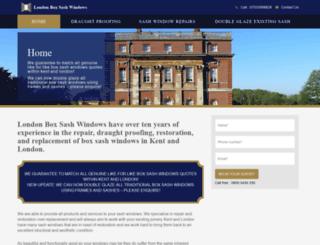 box-sash-windows.co.uk screenshot
