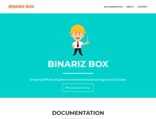 box.binariz.com screenshot