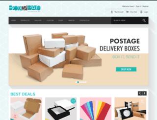 box2pac.com screenshot