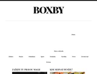 boxby.cz screenshot