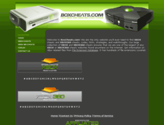 boxcheats.com screenshot