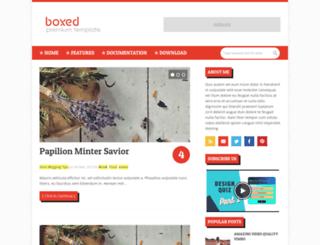 boxed-soratemplates.blogspot.com screenshot