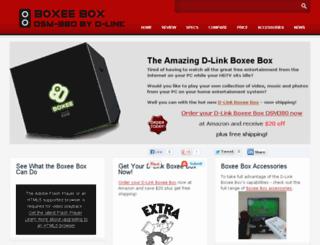boxeeboxdsm380.com screenshot