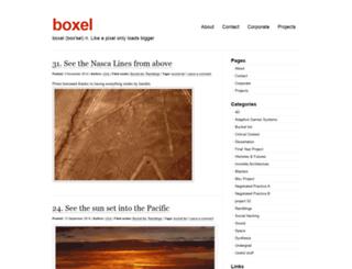 boxel.co.uk screenshot