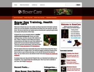 boxercare.com screenshot