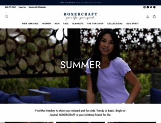 boxercraft.com screenshot