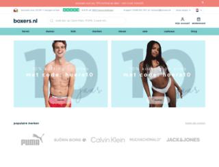 boxerdirect.nl screenshot